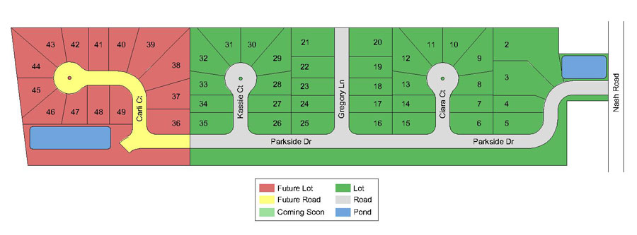Parkside Estates Site Plan