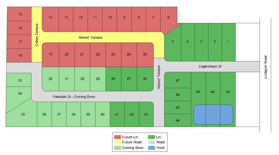 Eaglechase Site Plan